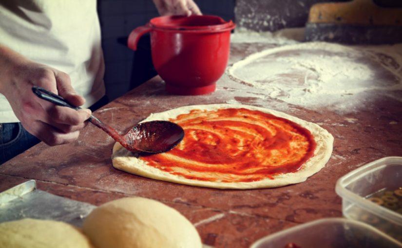przepis na ciasto na pizzę