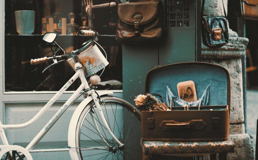 na rowerze